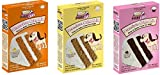 Puppy Cake Variety Pack of 3 (Cake Mix and Frosting) – 1-Peanut Butter, 1- Banana, and 1-Carob Cake Mix