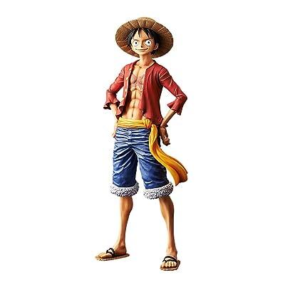 One Piece: Monkey D. Luffy The Grandline Men Grandista PVC Figure by Banpresto: Toys & Games