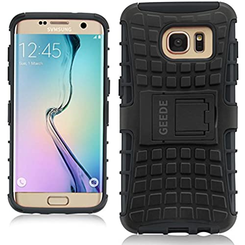 Galaxy s7 Edge Case, GEEDE Slim Fit Shockproof Galaxy s7 Edge Protective Case [Soft TPU Bumper][Hard PC Back] Sales