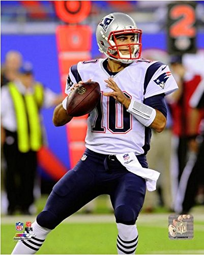 Jimmy Garoppolo New England Patriots 2014 Nfl Action Photo  Size  8  X 10