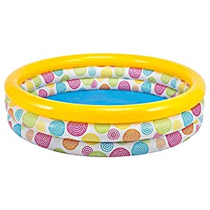 """Large Sunset Glow Inflatable Pool 66"""" x 18"""""""