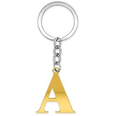 porte-cl/és A-Z Lettre Porte-cl/és Argent/é brillant Porte-cl/és Size:3.5cm E Winkey Porte-cl/és