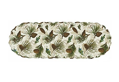Walk Park (Walk in the Woods Quilted Table Runner)