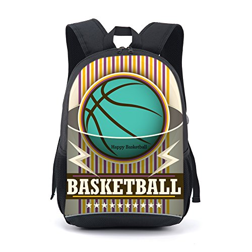 CARBEEN 17 Inch Ball Backpack Students Bookbag - Buy Online in Oman ... 0cd89e3190