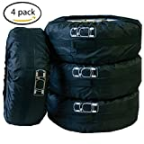 4 X Car Tires Storage Courier Bag Seasonal Protection Holder Cover Accessory Kit