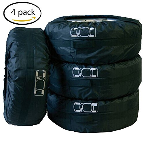 4 X Car Tires Storage Courier Bag Seasonal Protection Holder Cover Accessory Kit by Generic