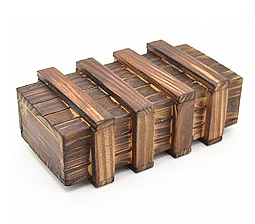 xiangshang shangmao Puzzle Box Japanese Wooden Secret Steps Hakone Japan Bako Trick Brain -