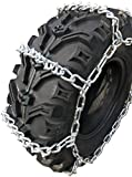 TireChain.com ATV UTV 4-Link Tire Chains 818 V Bar, 24X9X11 25X10X12 24X11X10 24X11X9 25X8X12 24x11x11 24x11x12 25x10x11 25x11x9 25x11x12 26x9x12 26x9x14 26x10x12 26x10x14 Priced per Pair