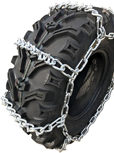 TireChain.com ATV UTV 4-Link Tire Chains 818 V Bar, 24X9X11 25X10X12 24X11X10 24X11X9 25X8X12 24x11x11 24x11x12 25x10x11 25x11x9 25x11x12 26x9x12 26x9x14 26x10x12 26x10x14 priced per pair by TireChain.com