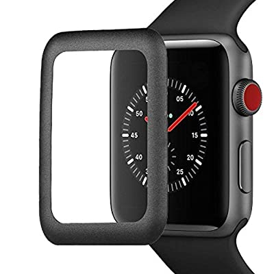RocketBus 3D Full Coverage Cover Tempered Glass Screen Protector Film Scratch Resistance Prevention for Apple 42mm Watch Series 1 2 3 iWatch