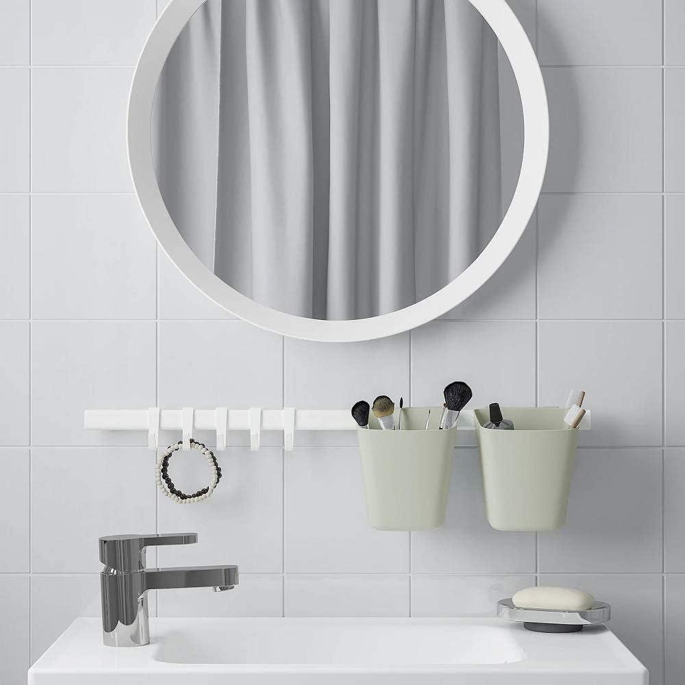New IKEA Sunnersta Kitchen 1, 1x BlueContainer Set UK Bathroom Wall Rail Rack