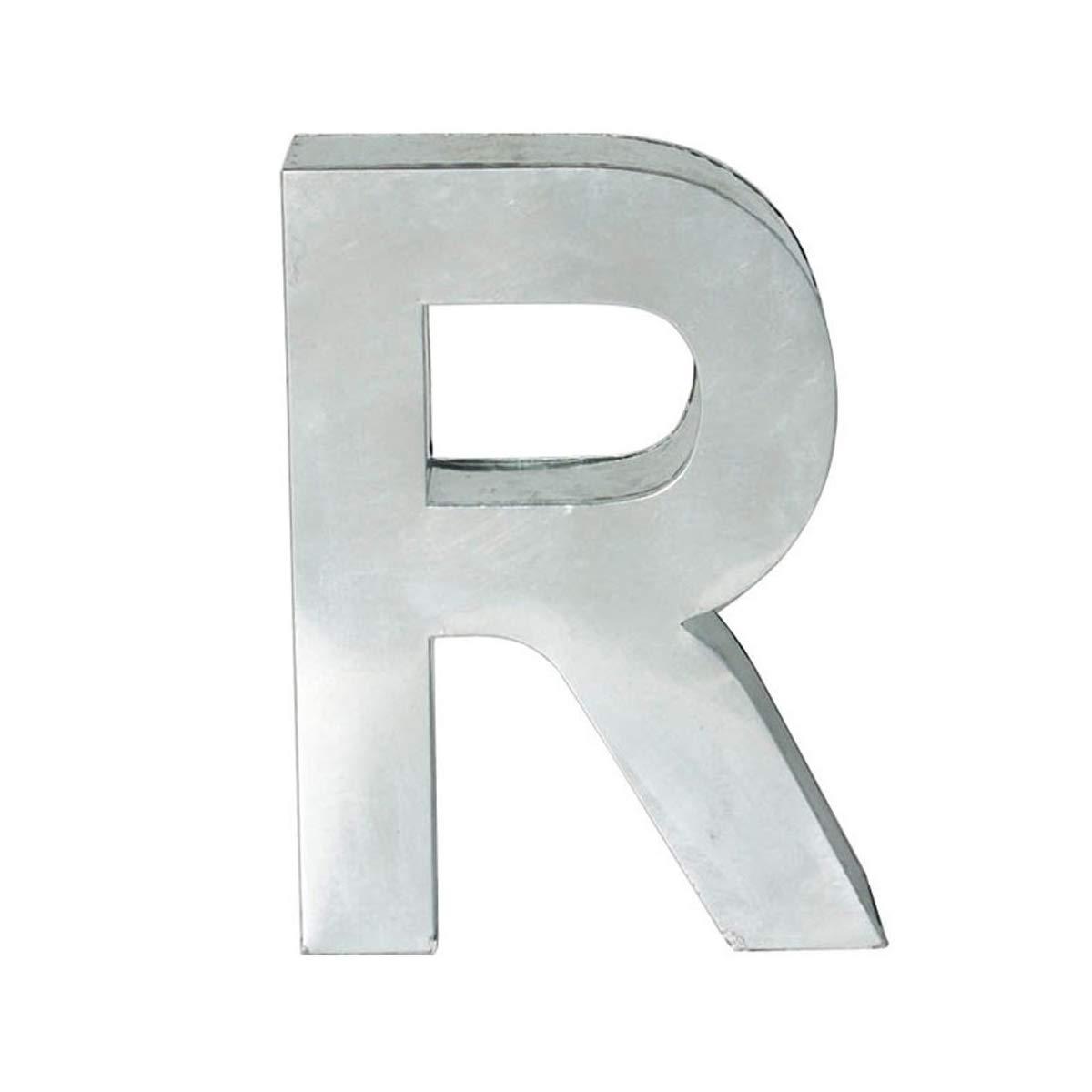 SELETTI Lettera in Metallo Metalvetica H. Cm. 35 - R