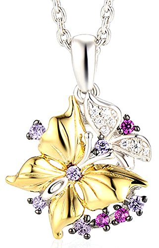 chariot-trading-silver-butterfly-pendant-necklace-gems-stone-cubic-zirconia