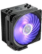 Cooler Master RR-212S-20PC-R1 CPU Air Cooler, 4 Tubos de Contacto Directo de Calor, RGB Ventilador, 120 mm