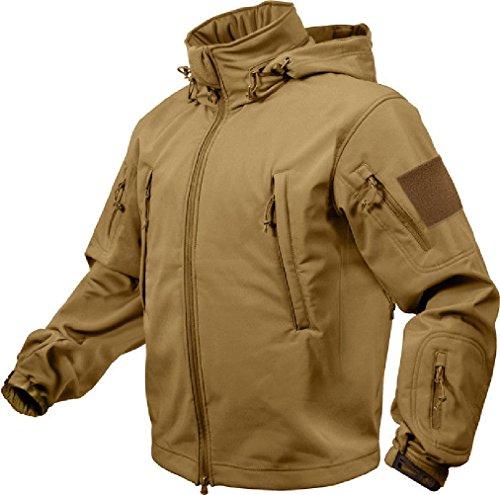 - Tactical Soft Shell Waterproof Jacket Fleece Lined Military Army Heavy Duty Coat