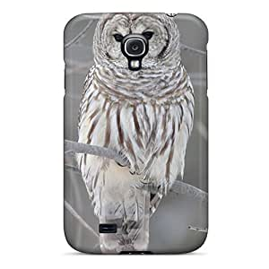 NWwefCR2708miGhy Jeffrehing Awesome Case Cover Compatible With Galaxy S4 - Owl