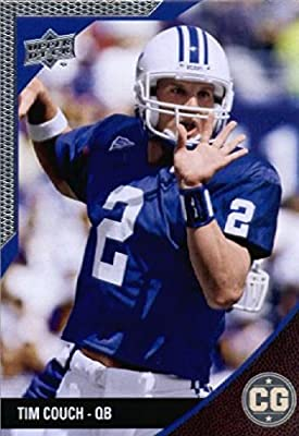 2014 Upper Deck SEC Conference Greats University of Kentucky Football Card # 52 Tim Couch IN PROTECTIVE SCREWDOWN DISPLAY CASE