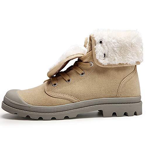 Botas Lona Hombre De Yellow Light Fhcgmx Boots Para Invierno 4wRdxtfqp