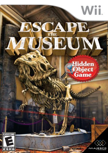 Escape The Museum - Nintendo Wii (Puzzle Games For Wii)