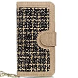 iPhone 7 Case Cover, Weaving Pattern PU Leather Protective Case Wallet Stand Case - Best Reviews Guide