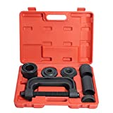 WORKPRO 4-in-1 Ball Joint Service Tool Kit 2WD & 4WD Remover Installer with 4-Wheel Drive Adapters