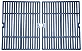 Music City Metals 60042 Matte Cast Iron Cooking Grid Replacement for Select Charbroil Gas Grill Models, Set of 2