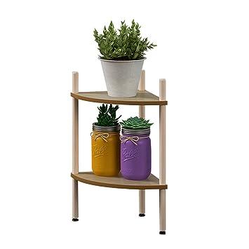 Jren Zk Eckregal, Sektor Multilayer Multifunktionsanlage Stehen Regal  Topfpflanzen Dekoration Tägliche Chemikalien Schlafzimmer Wohnzimmer