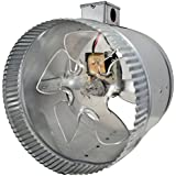 Suncourt DB308E Inductor In-Line 2-Speed Duct Fan