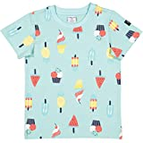 Polarn O. Pyret Summer Treat Print T (2-6YRS) - 2-3 Years/Blue Tint