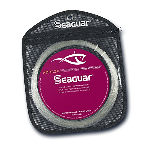Musky Pike Leaders (Seaguar 80AX25 2237-0252 Abrazx Musky/Pike Fishing Equipment)