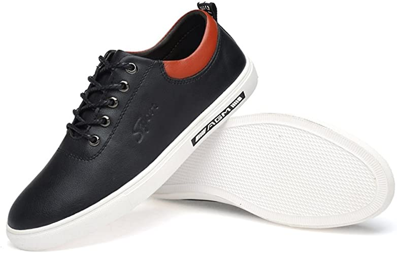 Sneakers Men's Casual Shoes Leather