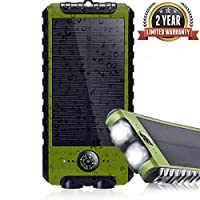 Solar Charger 26800mAh Portable Charger,...