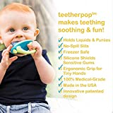 teetherpop - Fillable, Freezable Baby Teether for