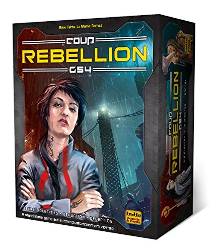 Indie Boards and Cards Coup Rebellion G54 Card Game (Revolution Card Game)