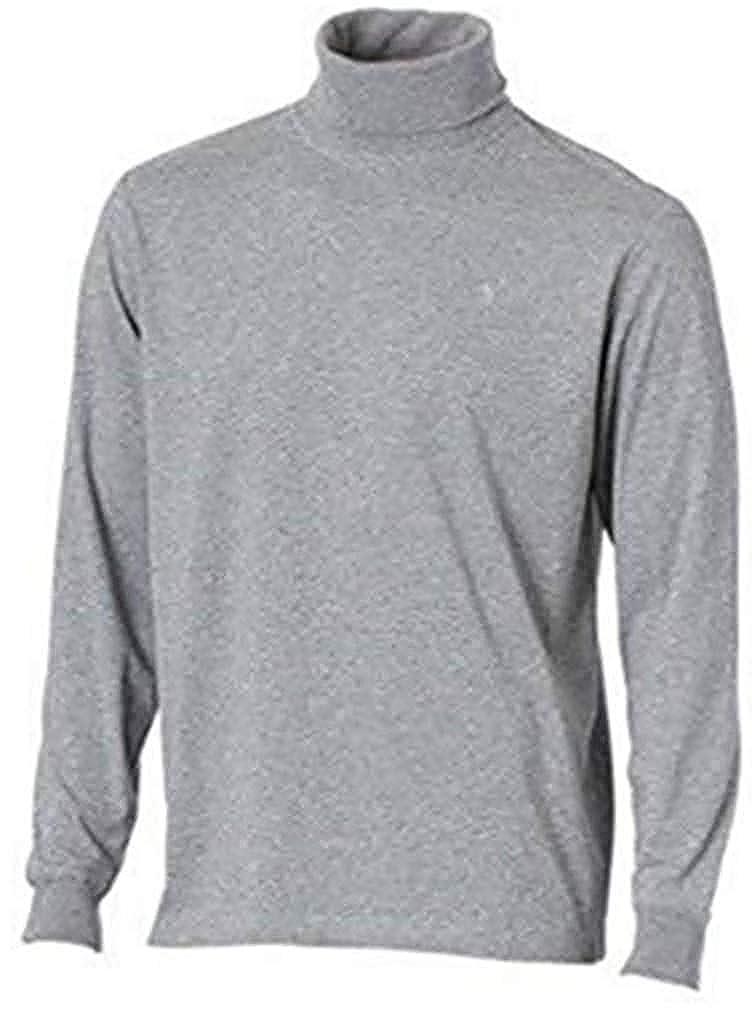 Camiseta de cuello de cisne de Heine en Gris plata - algodón, gris ...