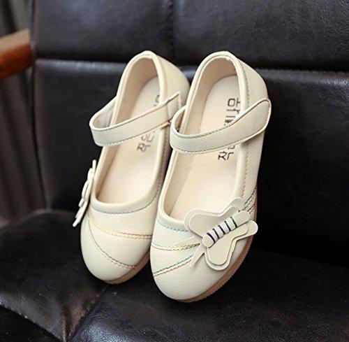 Zapatos de bebé,Tongshi Flor De Moda Niños Primavera Zapatos Chicas Guapas Casuales Hueco Sólido Beige