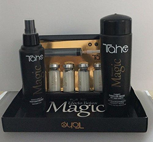 Tahe Magic Bx Effect 6x10 ML Plus Magic Pack ( Shampoo 250ml plus Mask 125ml ) by Tahe