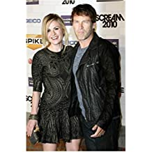 Anna Paquin and Stephen Moyer Striking a Pose at Special Event 8 x 10 Inch Photo