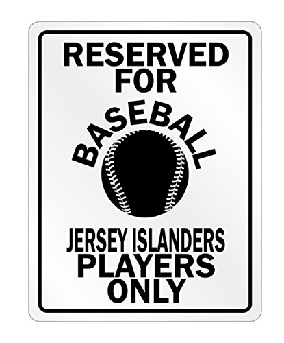 Idakoos - Reserved for Baseball Jersey Players Only - Countries - Parking Sign