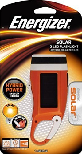 Energizer SOLCKCCBP Emergency Solar Crank