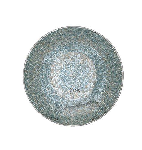 Deco 79 Metal Mosaic Wall Platter, 36-Inch
