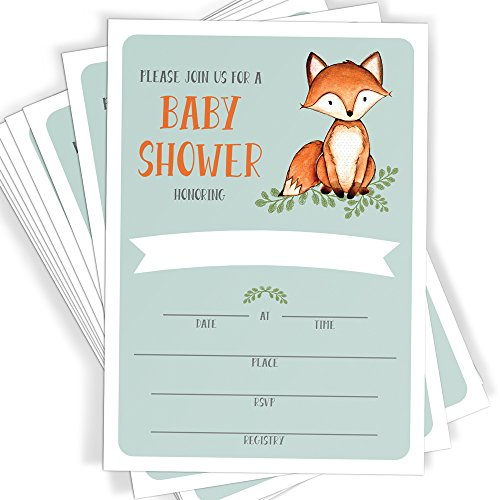 fox theme baby shower - 5
