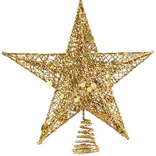 Star Wars Árbol de Navidad Topper, windgoal 20/25cm Árbol de Navidad Topper estrella de plástico para Navidad...