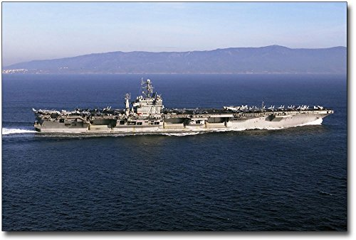 (United States Navy USS George Washington Aircraft Carrier 8x12 Silver Halide Photo Print )