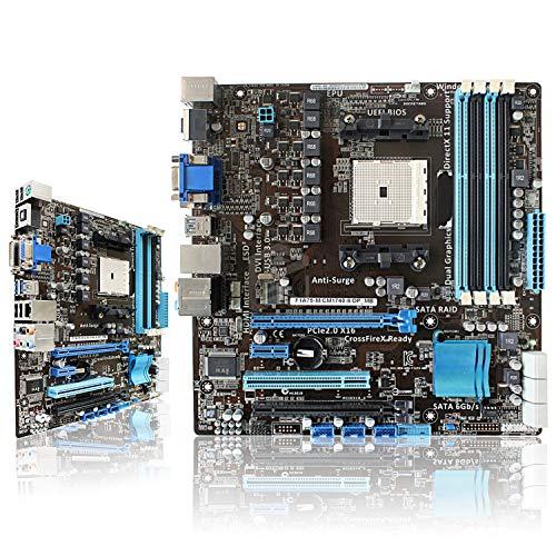 FidgetGear F1A75-M/CM1740-8/DP-MB AMD A75 Socket FM1 USB3.0 Desktop Motherboard