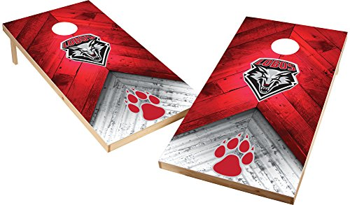 Wild Sports NCAA College 2'x4' New Mexico Lobos Cornhole Set