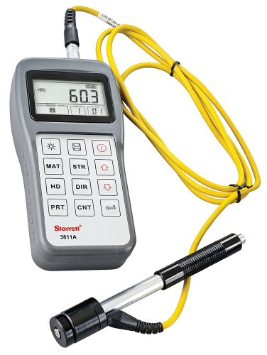 - Starrett 3811A Compact Portable Hardness Tester