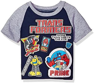 Transformers Toddler Boys' Patch Short Sleeve T-Shirt
