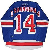 Brendan Shanahan Signed New York Rangers Blue Premier Jersey