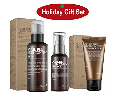 Benton Skin Care Sets : Best Christmas Gifts in Gift Box Comes with Essence + Toner + Cream and